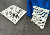Lightweight Nestable HDPE Plastic Pallets With 9 Legs And Open Deck P1010 4 Sides