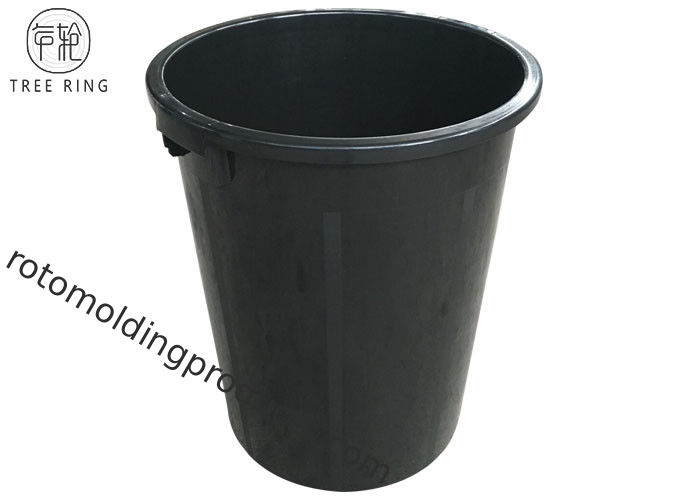 Outdoor Colorful Waste Wheelie Bins , 100l Plastic Bin Recycling With Cover / Lids