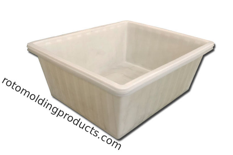 PE Rotomolding Durable Huge Plastic Fabric Container For Malaysia Textile Manufacture 1600KG ,1850*1550*670