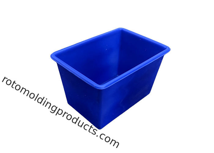 150 L Poly Box Truck Handling Cart Plastic Tub For Recycling Trash Truck